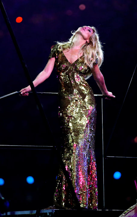 "<div class=""meta ""><span class=""caption-text "">British model Kate Moss poses on stage during the Closing Ceremony at the 2012 Summer Olympics, Sunday, Aug. 12, 2012, in London. (AP Photo/Matt Dunham) </span></div>"