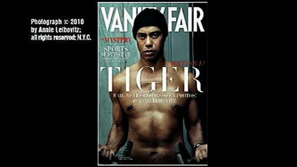 Tiger Woods, Vanity Fair cover