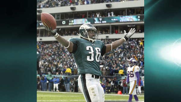 Brian Westbrook as a Philadelphia Eagle