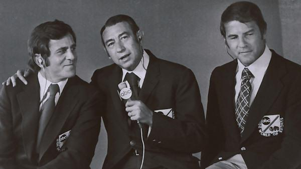 Don Meredith, Howard Cosell and Frank Gifford