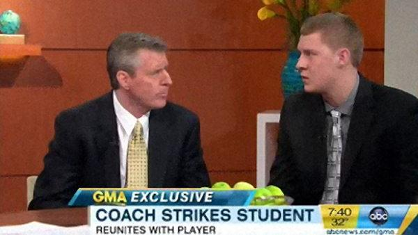 Holy Family coach, player face off on GMA