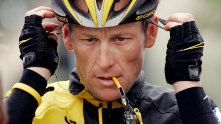 FILE - In this Feb. 22, 2009 file photo, Lance Armstrong prepares for the final stage of the Tour of California cycling race in Rancho Bernardo, Calif.  (AP Photo/Marcio Jose Sanchez, File)