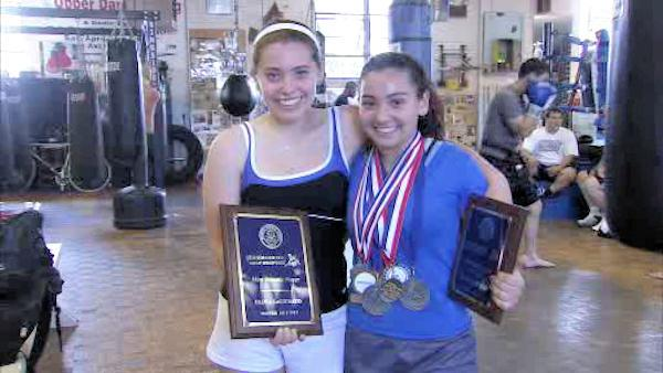 Female teen wrestler turning heads in Pa. and beyond