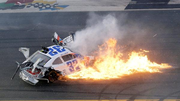 NASCAR fans injured in Daytona crash