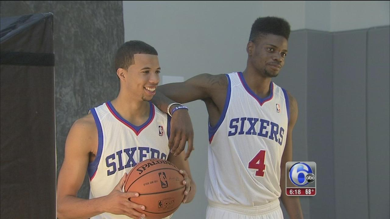 Rebuilding Sixers prepare to start camp