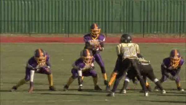 Willow Grove pee wee football team wins championship