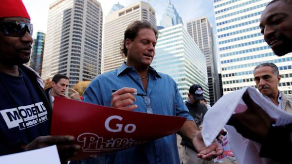 Former Phillies catcher Darren Daulton diagnosed with brain tumors