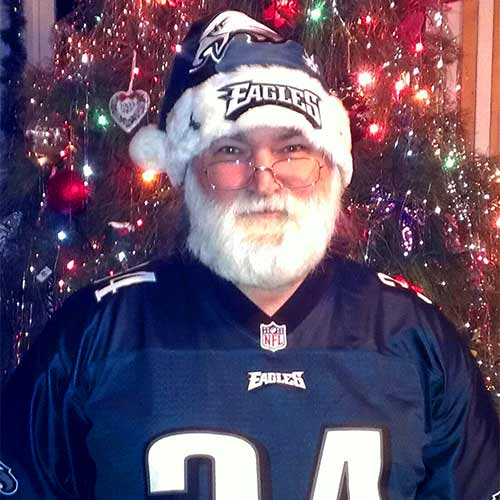 All I wished for Christmas is a WIN!!! - Skyeagle <span class=meta>(Eagles Fan Photos - 2013 Playoffs)</span>