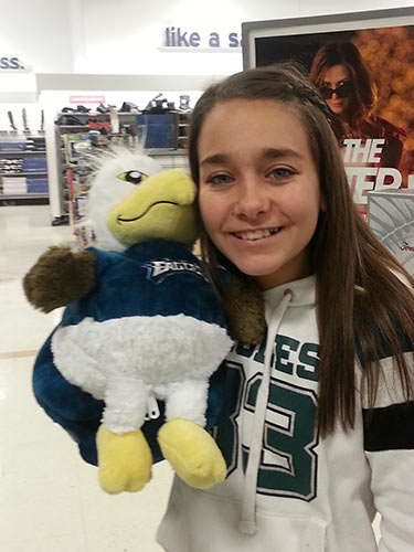 Giana Okoorian <span class=meta>(Eagles Fan Photos - 2013 Playoffs)</span>