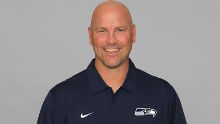 This is a 2012 photo of Gus Bradley of the Seattle Seahawks NFL football team. This image reflects the Seattle Seahawks active roster as of Tuesday, June 12, 2012 when this image was taken. (AP Photo)