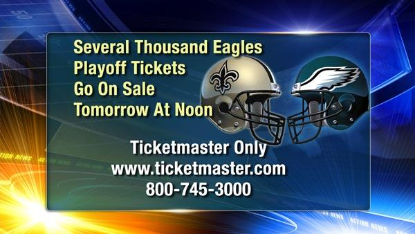 Getting tickets for Eagles vs. Saints game