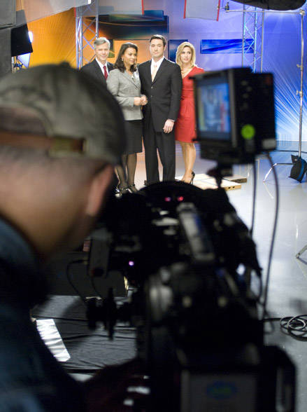 Action News Morning Team from the Photographers prospective  <span class=meta>(WPVI Photo)</span>
