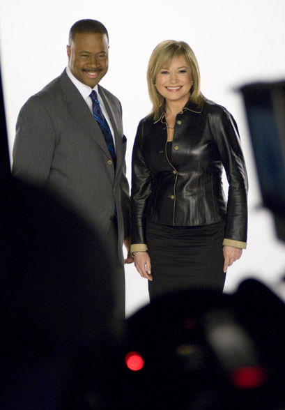 5:00pm anchors Rick Williams and Monica Malpass <span class=meta>(WPVI Photo)</span>