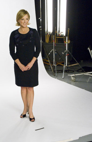 Sarah Bloomquist on set <span class=meta>(WPVI Photo)</span>