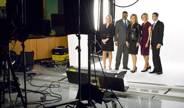 Action News team 5pm team  <span class=meta>(WPVI Photo)</span>