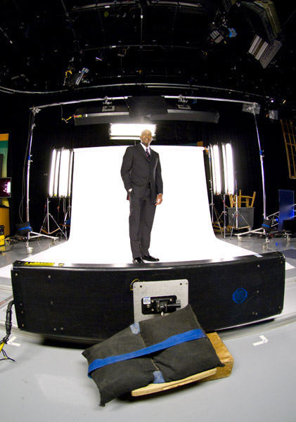 Keith Russell ready on set  <span class=meta>(WPVI Photo)</span>