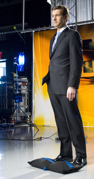 Brian Taff on set  <span class=meta>(WPVI Photo)</span>