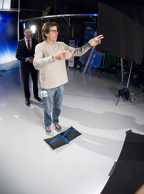 41.	Peter directs the photographer <span class=meta>(WPVI Photo)</span>
