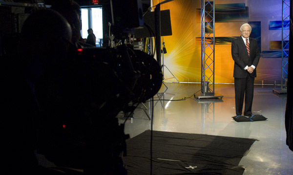 Jim Gardner on set  <span class=meta>(WPVI Photo)</span>