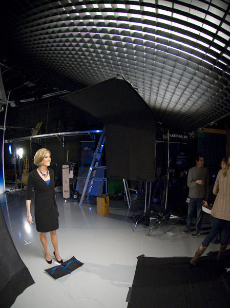 Cecily after her first take <span class=meta>(WPVI Photo)</span>