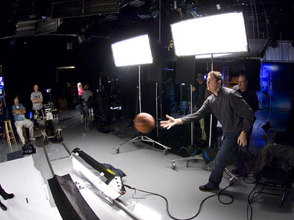 "<div class=""meta ""><span class=""caption-text "">Big Boss Mike tossing a basketball on set (WPVI Photo)</span></div>"