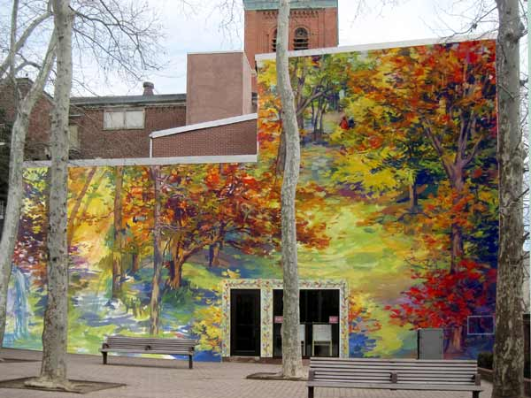 Autumn mural design 2012 <span class=meta>(Image by David Guinn)</span>