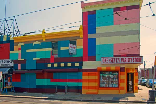 "<div class=""meta ""><span class=""caption-text "">Philly Painting progress shot. Along Germantown Avenue in North Philadelphia, Dutch painters Haas & Hahn work within the community to transform a stretch of the commercial corridor through large-scale murals on the fa?ade of local businesses.  (Photo by Haas & Hahn)</span></div>"