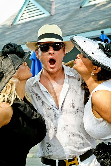 "<div class=""meta image-caption""><div class=""origin-logo origin-image ""><span></span></div><span class=""caption-text"">Celebrity judge Carson Kressley is a Hat Contest regular each year.  Pictured with Kressley are Malvern's Darci Henry (left) and Lisa Di Caprio (right) of Malvern. (WPVI Photo/ Photos Courtesy AroundMainLine.com and Betsy Barron Photography)</span></div>"