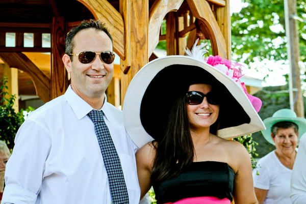 "<div class=""meta image-caption""><div class=""origin-logo origin-image ""><span></span></div><span class=""caption-text"">West Chester's 'Mad Hatter' winner Jillian Titus with one of the judges.  The Hat Contest was sponsored by Cartier. (WPVI Photo/ Photos Courtesy AroundMainLine.com and Betsy Barron Photography)</span></div>"