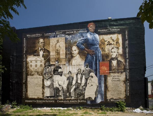 Tribute to Harriet Tubman Artists: Donovan, Sam  Address: 2950 Germantown Ave