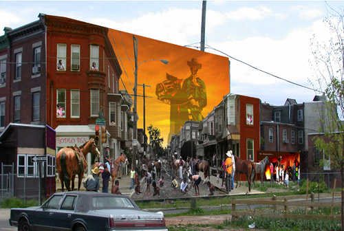 "<div class=""meta image-caption""><div class=""origin-logo origin-image ""><span></span></div><span class=""caption-text"">Tribute to Urban Horsemen Artists: Slowik, Jason  Address: 3222 W Montgomery Ave</span></div>"