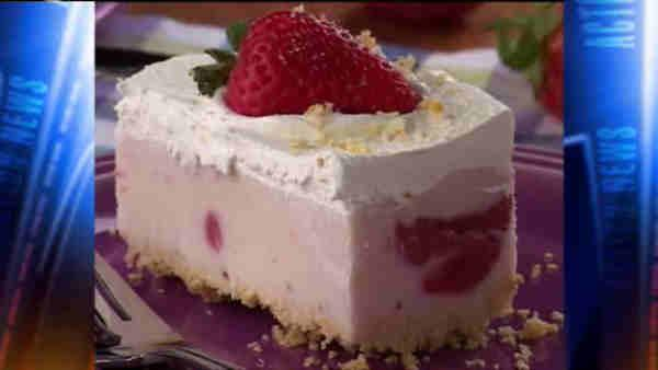Mr. Food: Berry Cheesecake Ice Cream Squares