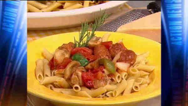 Mr. Food: Chicken Sausage Cacciatore