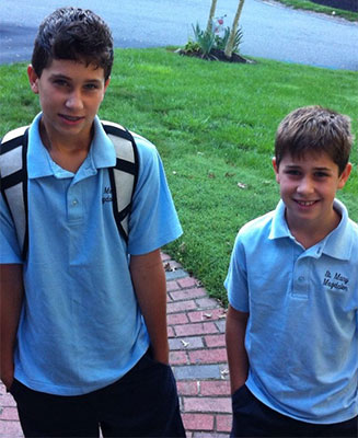John Curran 8th grade  Justin Curran 4th grade  St Mary Magdalen - Media