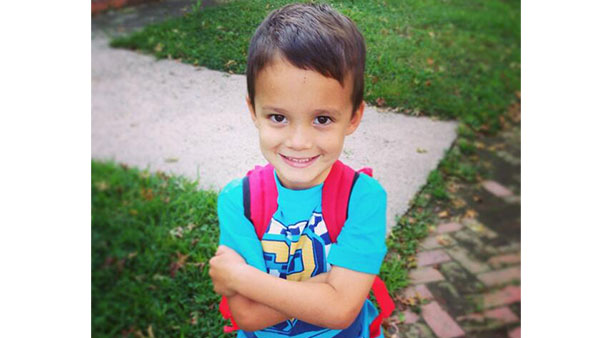 "<div class=""meta ""><span class=""caption-text ""> Freddy's first day of kindergarten!!! </span></div>"
