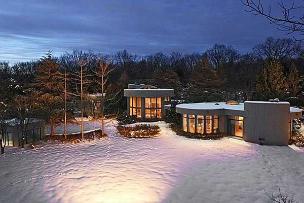This former home of Whitney Houston, at 22 N. Gate Road in Mendham, New Jersey, is on the market for $1.49 million.  (Photo Credit: Greg Taylor)