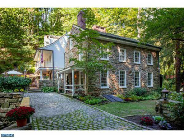 This $1.3 million mansion at 1426 Road Glen Road in Gladwyne, Pa. is on the market.  This home was also recently featured on 6abc's FYI Philly!