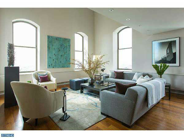Chase Utley's $4.3 million condo at 210 West Washington Square in Philadelphia is on the market.  See the full description www.centercityteam.com .  Photos used with permission.