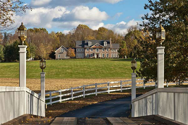 "<div class=""meta ""><span class=""caption-text "">The Crosscreek Farm estate in Solebury Township, Bucks County is on the market for $6,250,000.   The owners are hoping to entice real estate agents with a special promotion: If an agent can get a signed contract to sell by the end of the year, they get a free three-year lease on a $70,000 Mercedes. </span></div>"