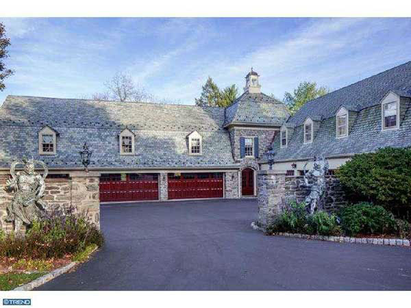 The home of former 76ers owner, author and entrepreneur Pat Croce is on the market for $7.9 million.  It's located at 835 Mount Moro Road in Villanova, Pa.  For more, visit the listing on LaviniaSmerconish.com.