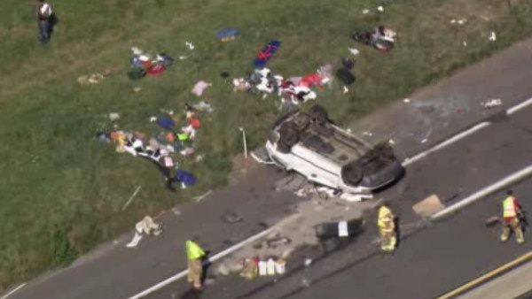 WEST NANTMEAL PA Turnpike (FATAL ACCIDENT 5yo dies) - The