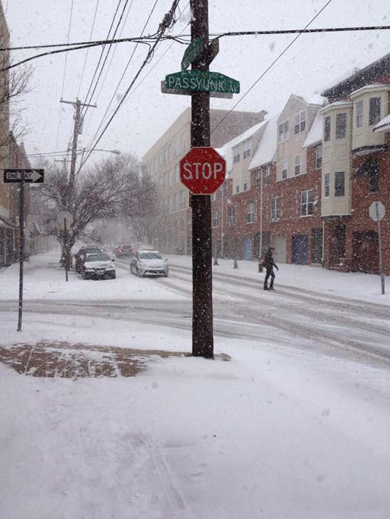 From Ryan Venezia (@veneziar) on Twitter:  Slick at Passyunk and Christian