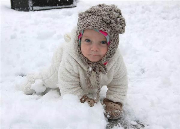 Kendall Ray Williams is enjoying the snow!