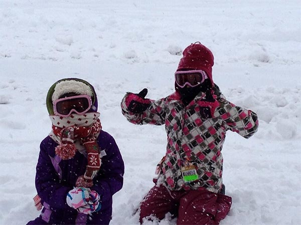 Taylor and Holly in Kintersville, Pa. Submitted by: Jenn Moyer