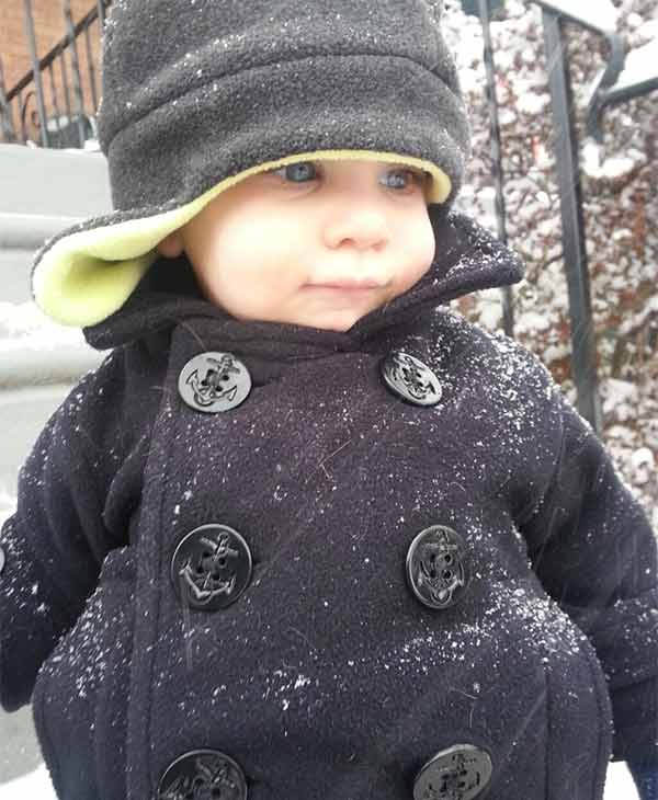 Vincent enjoying the snow in Roxborough!  Submitted by: Maureen Hope