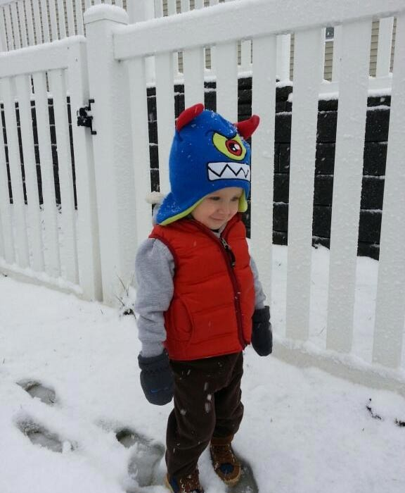 "<div class=""meta ""><span class=""caption-text "">Dash loving the snow!   Submitted by: Katherine Jones</span></div>"