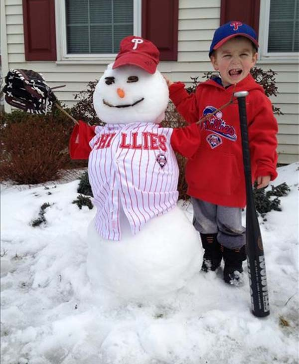 While we've enjoyed all the snow, we are ready for spring!  Submitted by: Kristen Sekkes