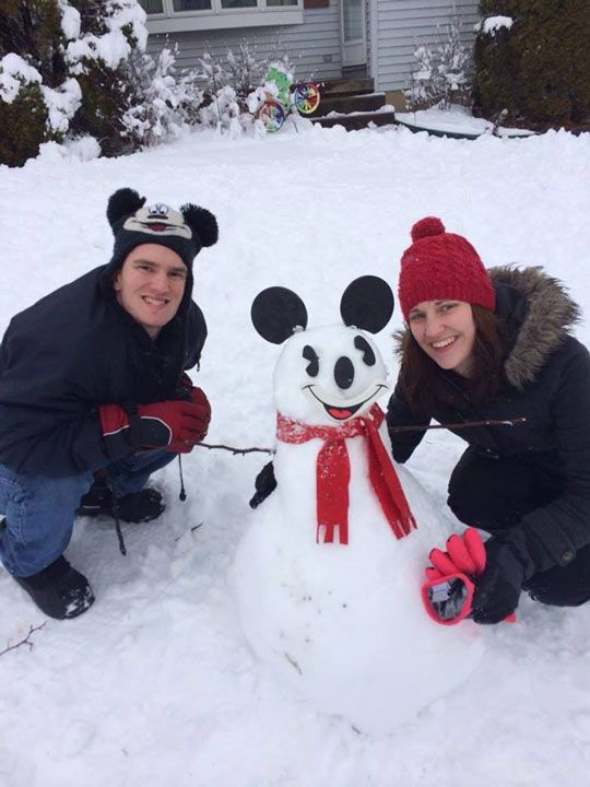 Viewer Photo from February 3rd snowstorm: Snow day in Ewing, NJ - Tammy Ranello