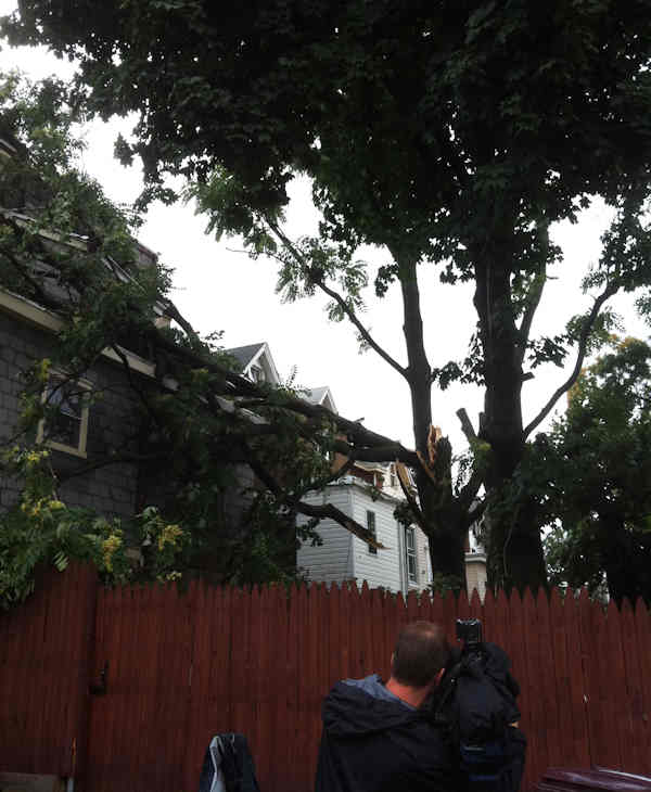 "<div class=""meta ""><span class=""caption-text "">Action News reporter Sarah Bloomquist sent in pictures of storm damage from Wilmington.</span></div>"