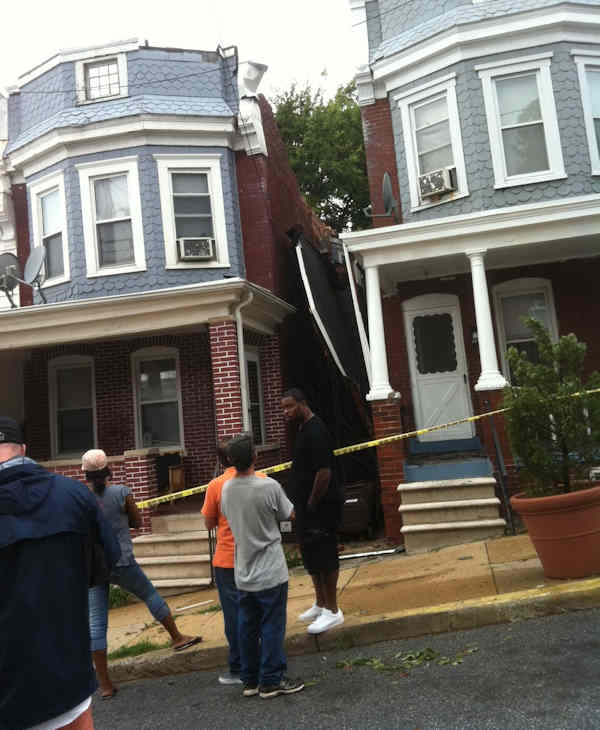 Action News reporter Sarah Bloomquist sent in pictures of storm damage from Wilmington.